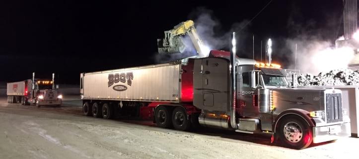 Boot Trucking Truck